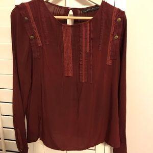 Zara woman blouse M